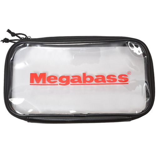 MEGABASS CLEAR POUCH(クリアポーチ) (L)