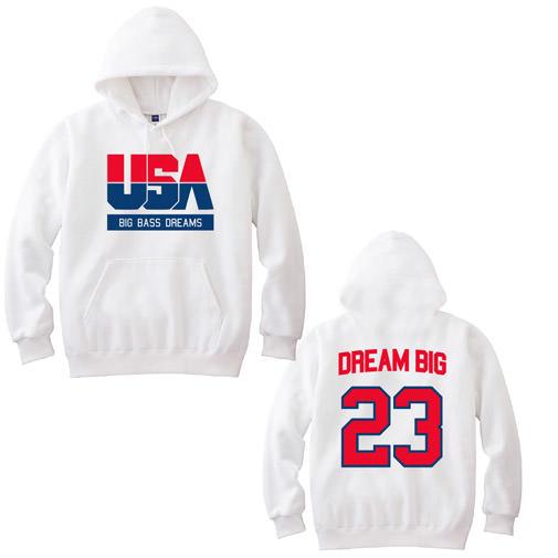 【BIG BASS DREAMS】 PARKA DREAM TEAM WHITE