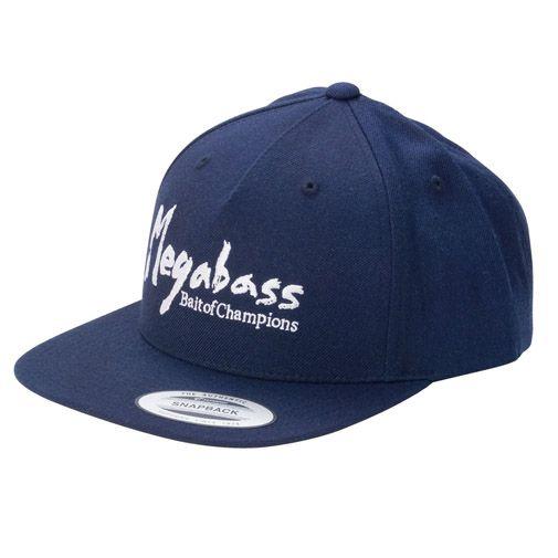 【10月末発送】MEGABASS CAP BRUSH SNAPBACK NAVY/WHITE(ブラッシュスナップバック・ネイビー/ホワイト)