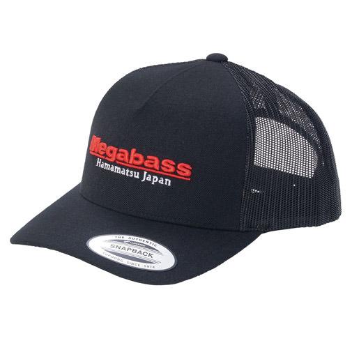 【3月末発送】MEGABASS CAP CLASSIC TRUCKER BLACK/RED(クラシックトラッカー・ブラック/レッド)